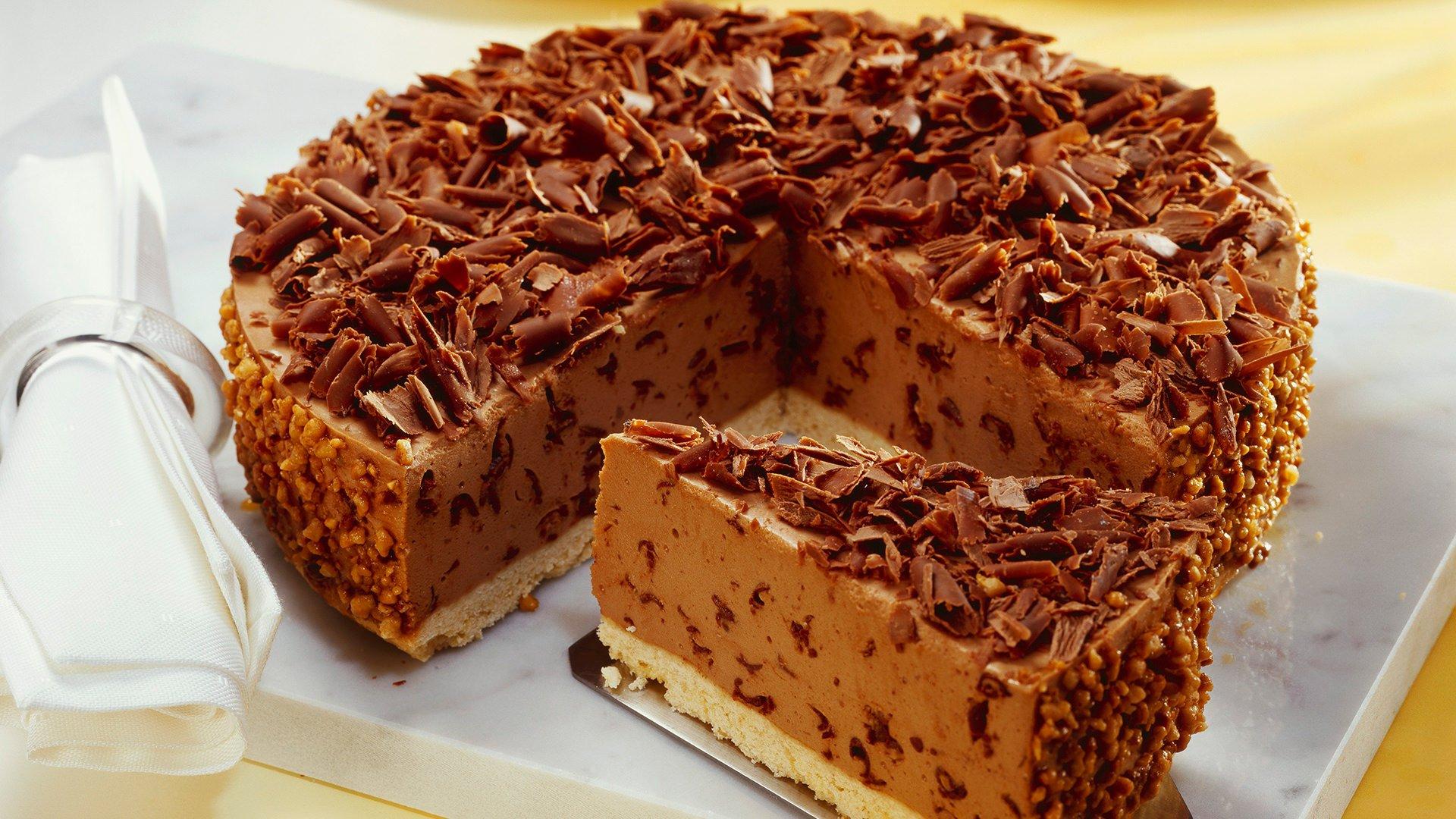 Quark Nougat Cake Minusl