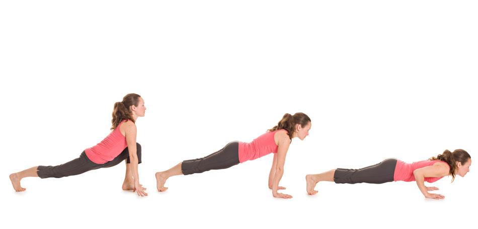 Yogaübung Sonnengruß Teil 2